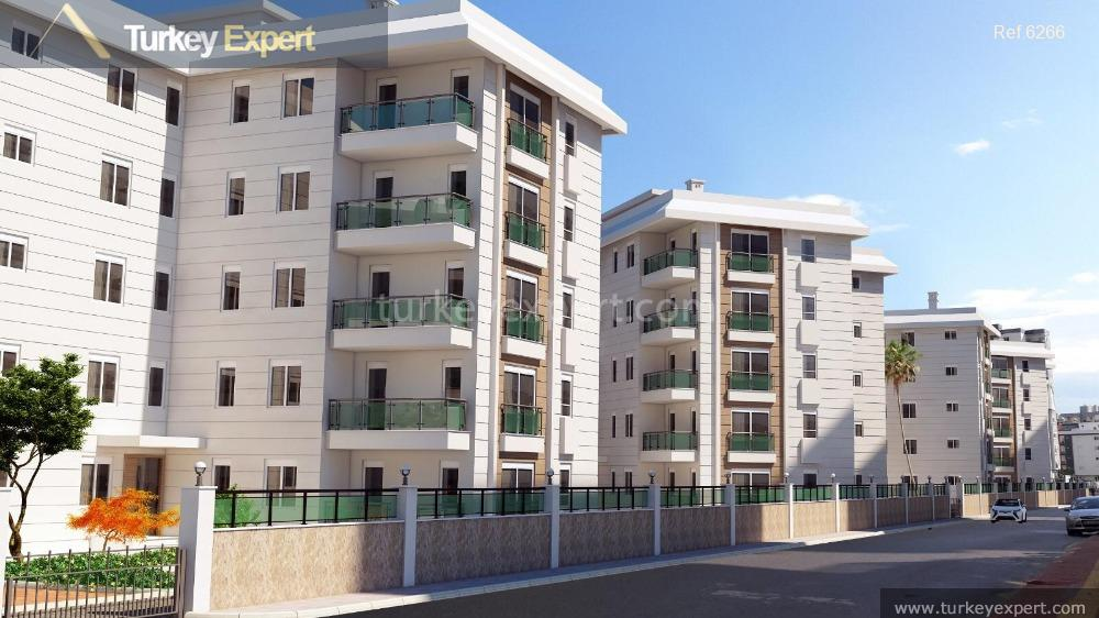 new project antalya apartments in10