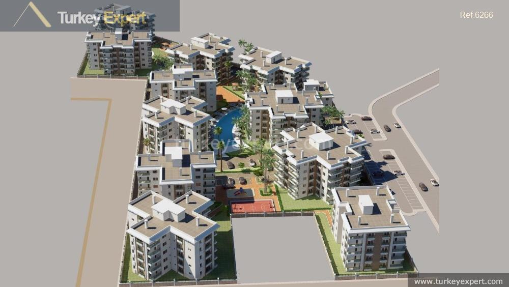 new project antalya apartments in21