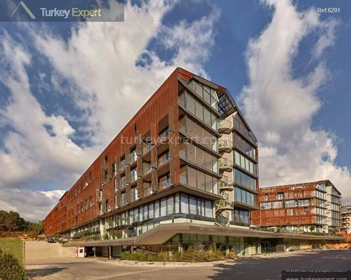 Solar-powered, award-winning project near Gokturk close to the Istanbul new airport