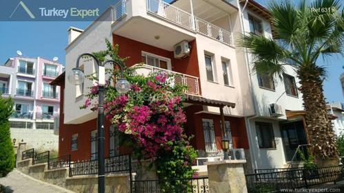 Holiday home for sale on Sidonya Site in Kusadasi Ladies Beach