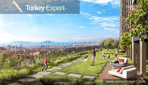 Discover the true potential of the Anatolian side, sea-view modern flats by the forest near Maltepe