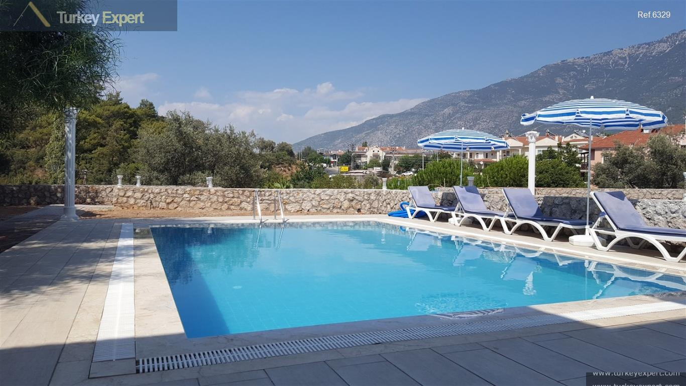 luxury villa in fethiye for4