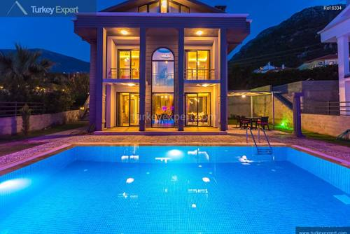 Beautiful villa with a private pool for sale in Oludeniz
