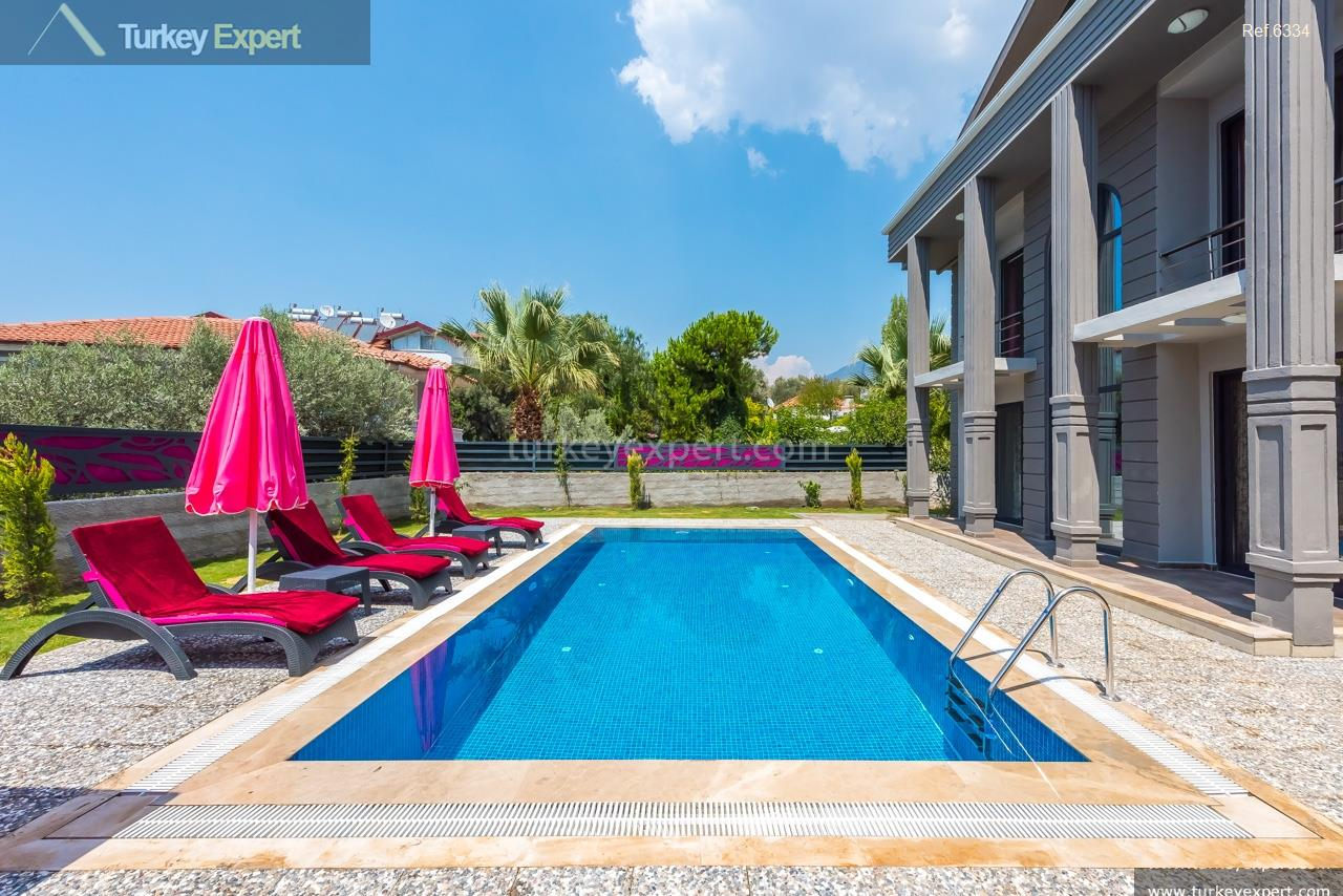 villa with pool in oludeniz27