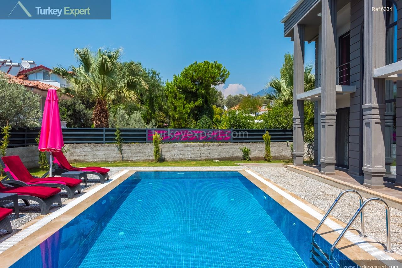 villa with pool in oludeniz28
