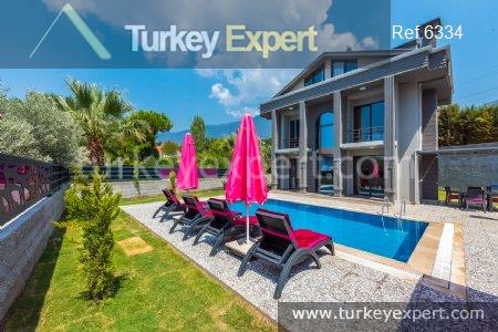 villa with pool in oludeniz29