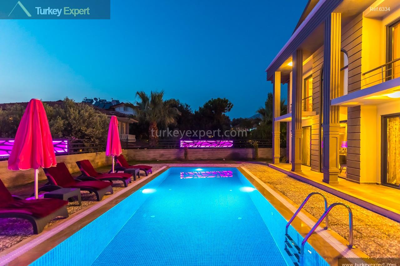 villa with pool in oludeniz7
