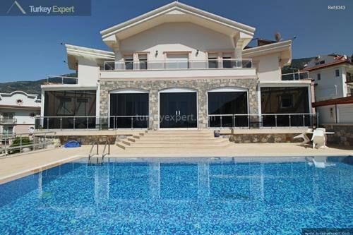 Stunning private villa for sale in Oludeniz with a good size garden