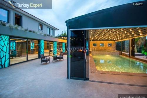 Amazing modern villa for sale in Fethiye with high-end details for ultimate comfort