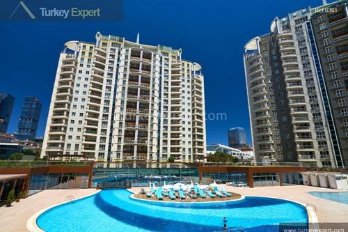Modern family flats near Maltepe, affordable new homes with sea view in the Anatolian region