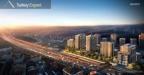 New apartments for sale in Istanbul Maslak