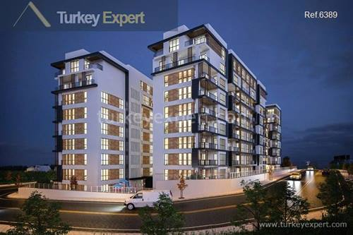 New apartments in Bursa Nilufer neighborhood with smart home technologies