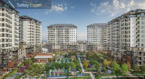 Spacious apartments suitable for citizenship in Beylikduzu Istanbul