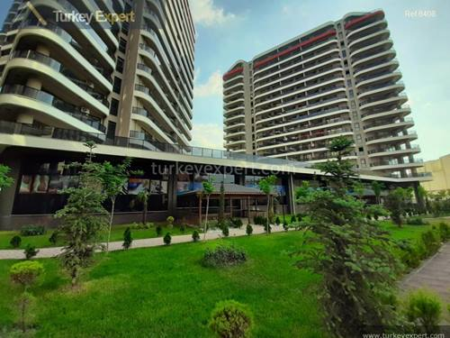 Residential Bursa apartments with facilities and installments nearby metro station