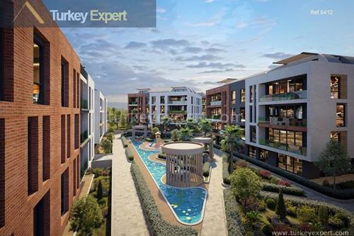Sea view apartments in Istanbul with bargain starting prices and stage payments