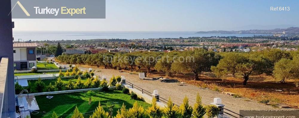 detached sea view villa with3