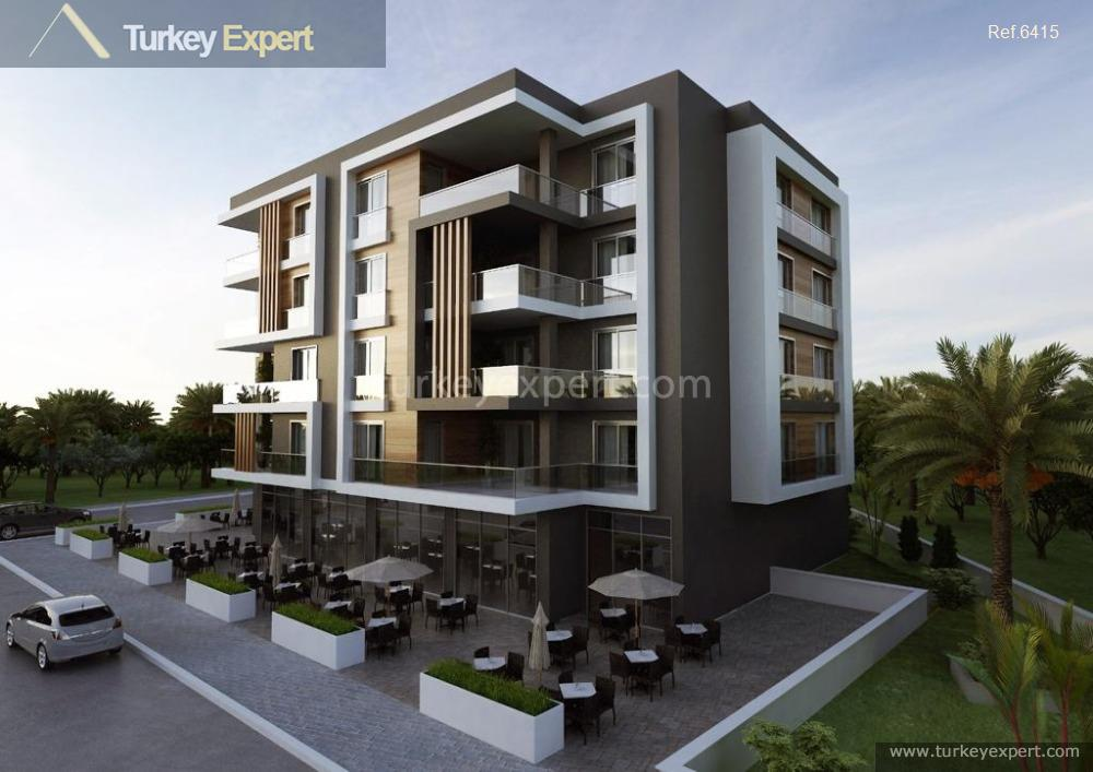 new development of apartments with14
