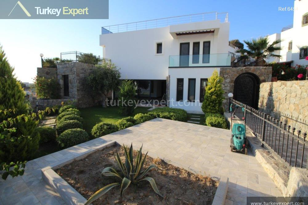 villa in bodrum with luxury109