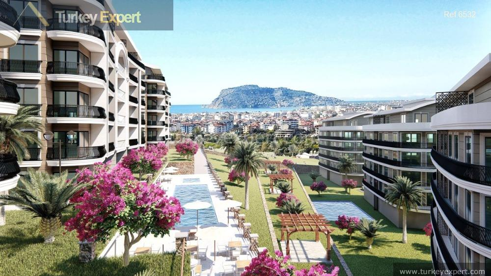 1modern apartments in alanya oba3