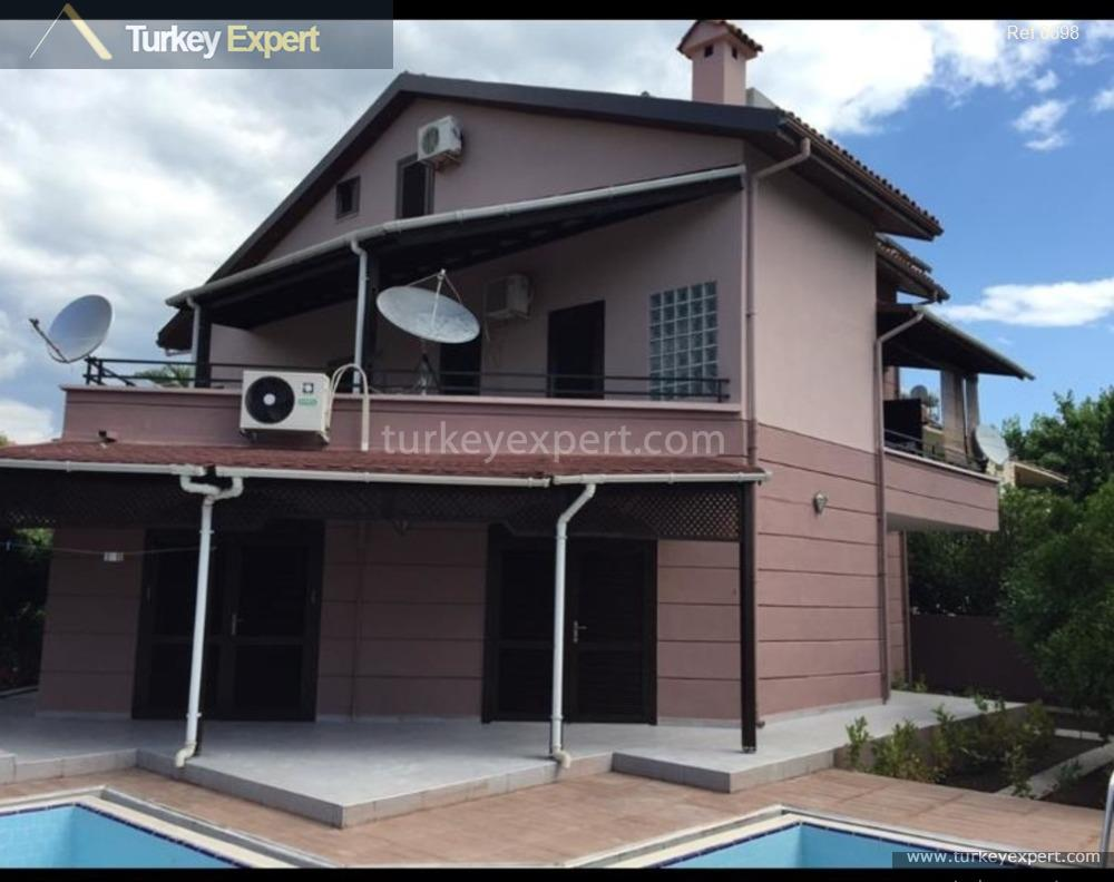 detached villa in antalya kemer1