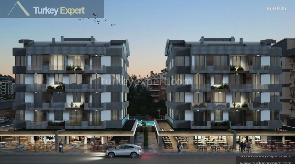 new apartments in antalya with1