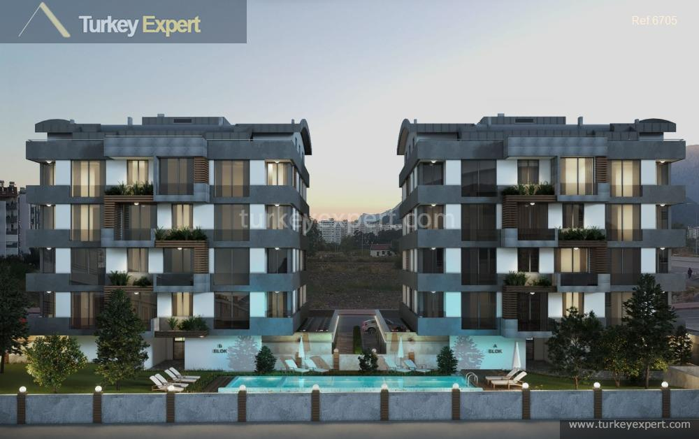 new apartments in antalya with10