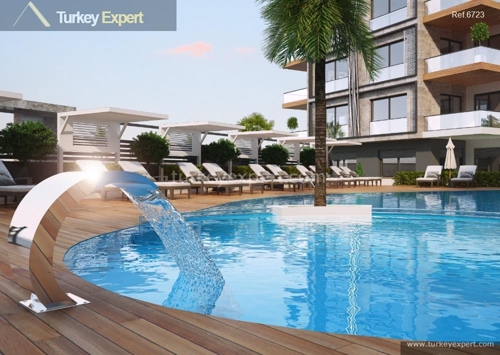 1apartment project with pool and14