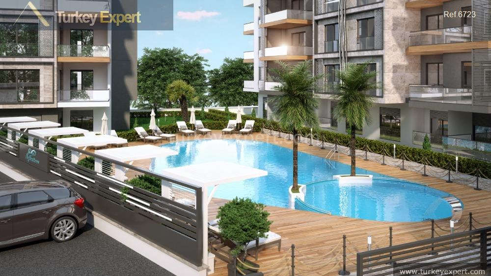 apartment project with pool and12