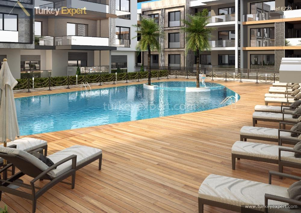 apartment project with pool and18