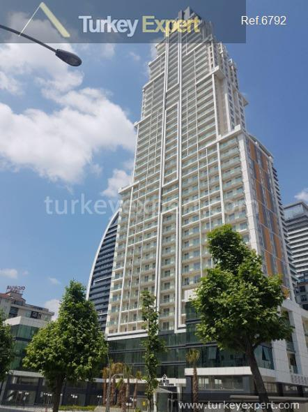 1tower apartments in esenyurt for2