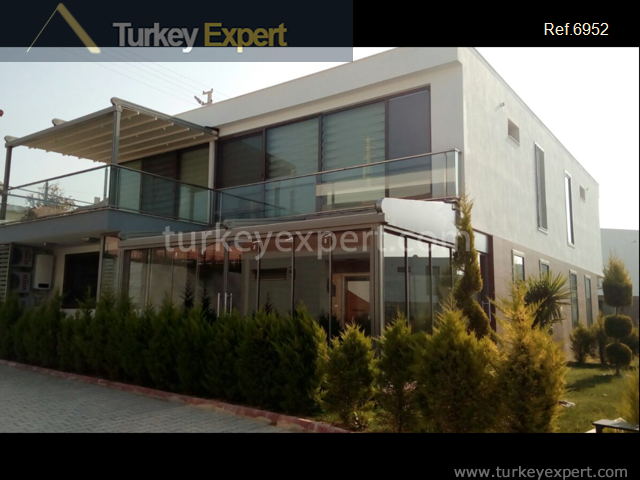 modern detached villa with private10