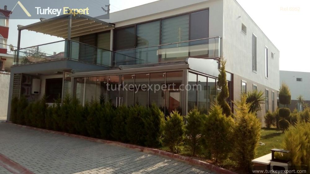 modern detached villa with private8