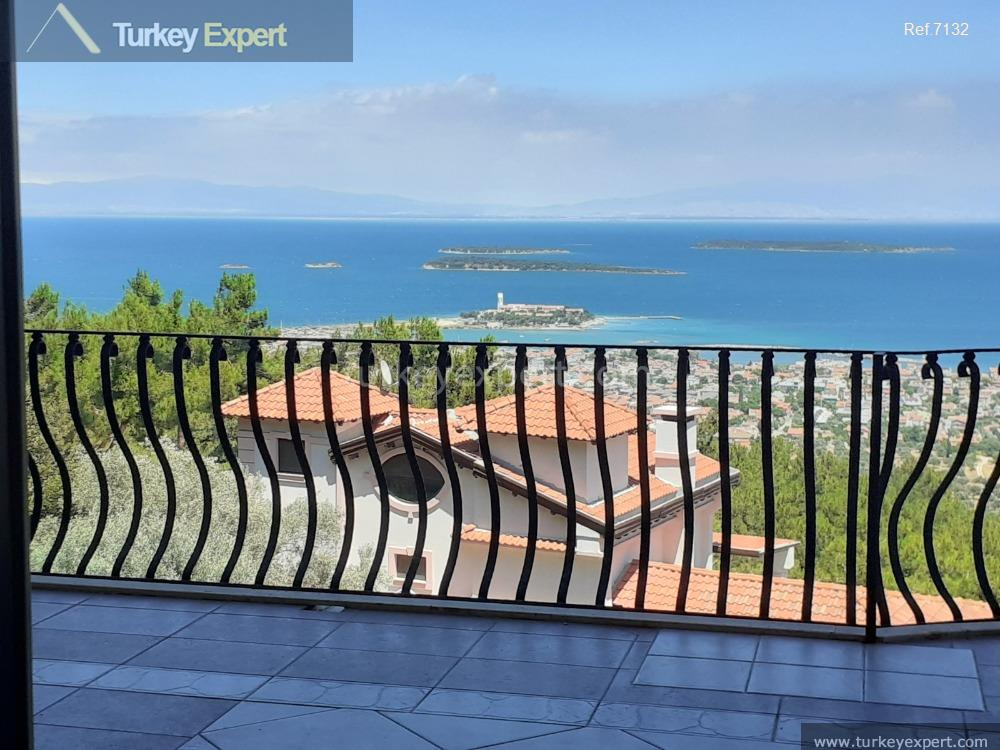 private villa in izmir for4
