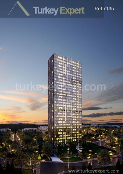 1luxury apartments in kadikoy with6