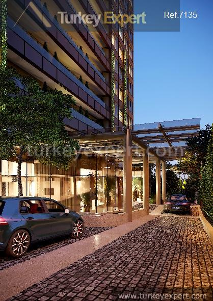 luxury apartments in kadikoy with2