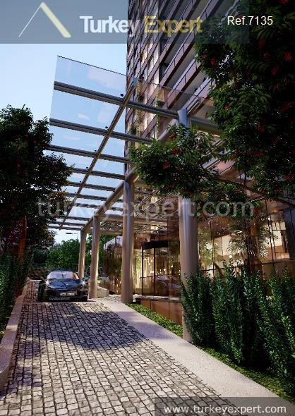 luxury apartments in kadikoy with4