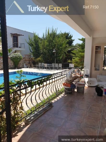 garden apartment in bitez bodrum101