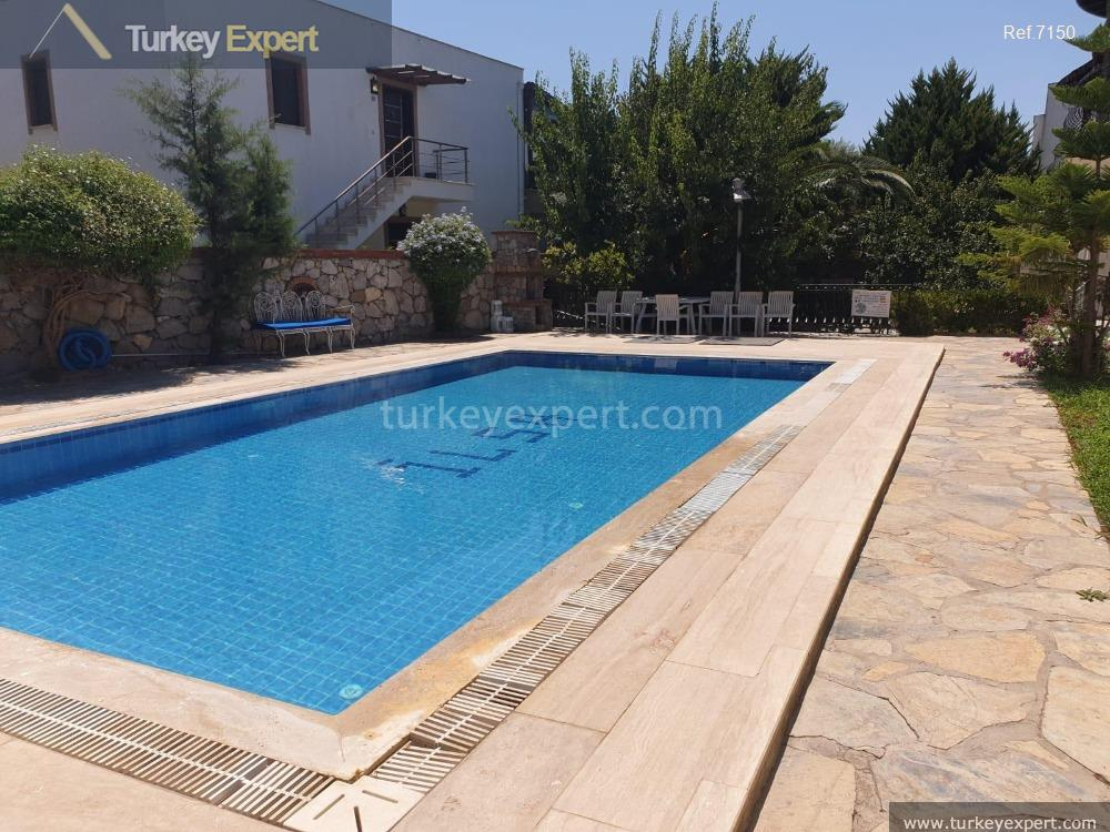 garden apartment in bitez bodrum104