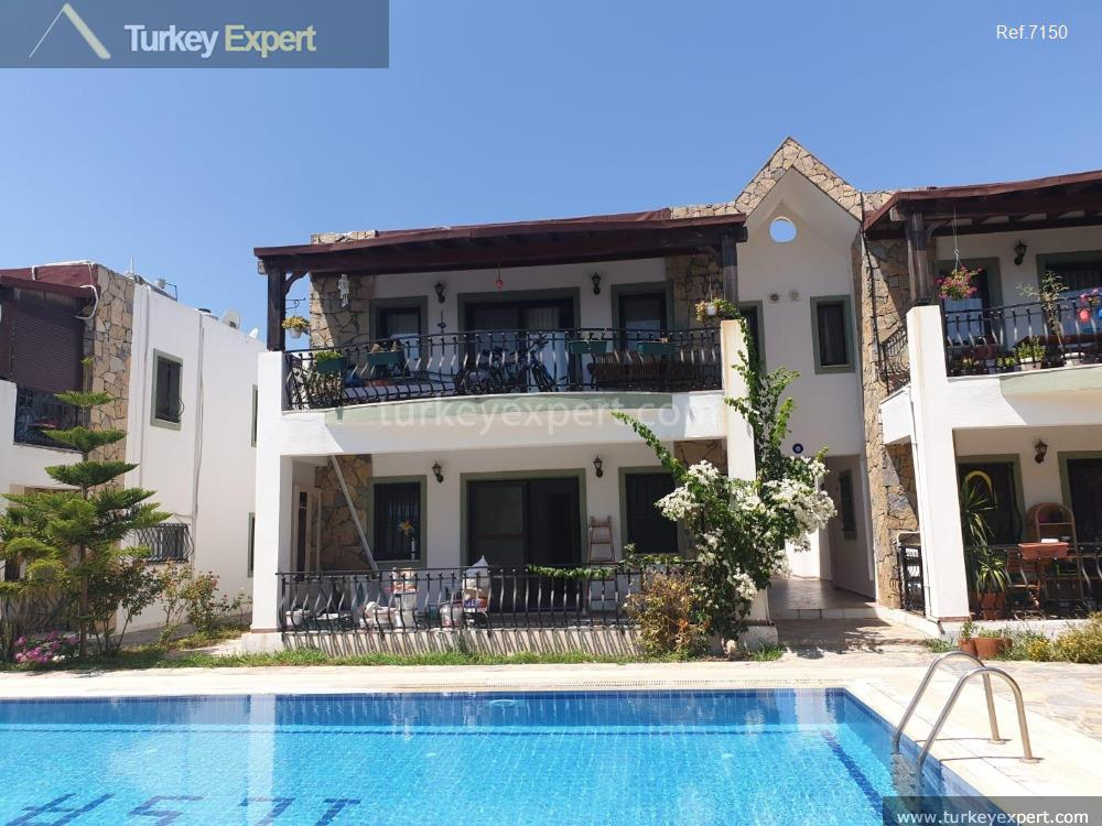 garden apartment in bitez bodrum105