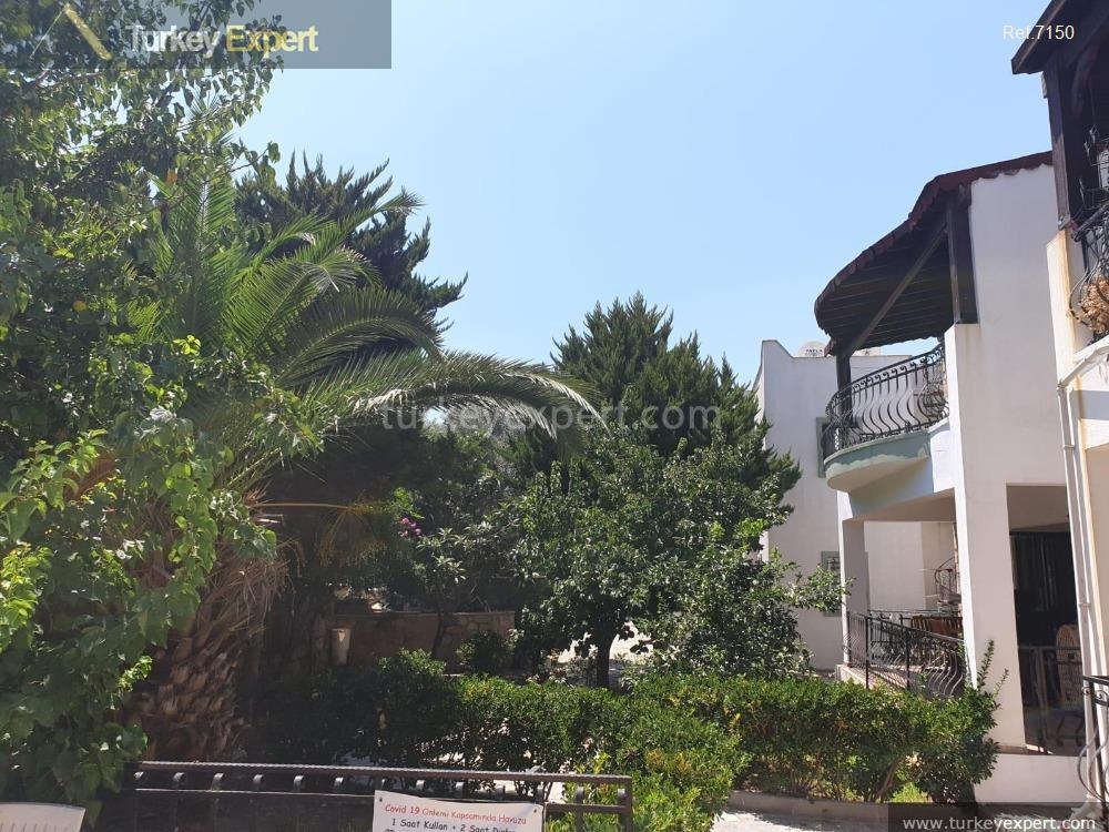 garden apartment in bitez bodrum106