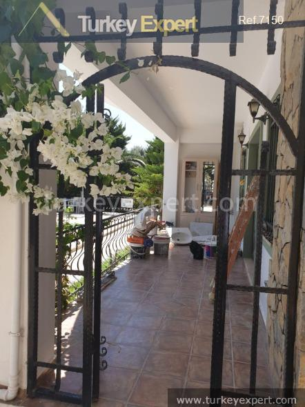 garden apartment in bitez bodrum15