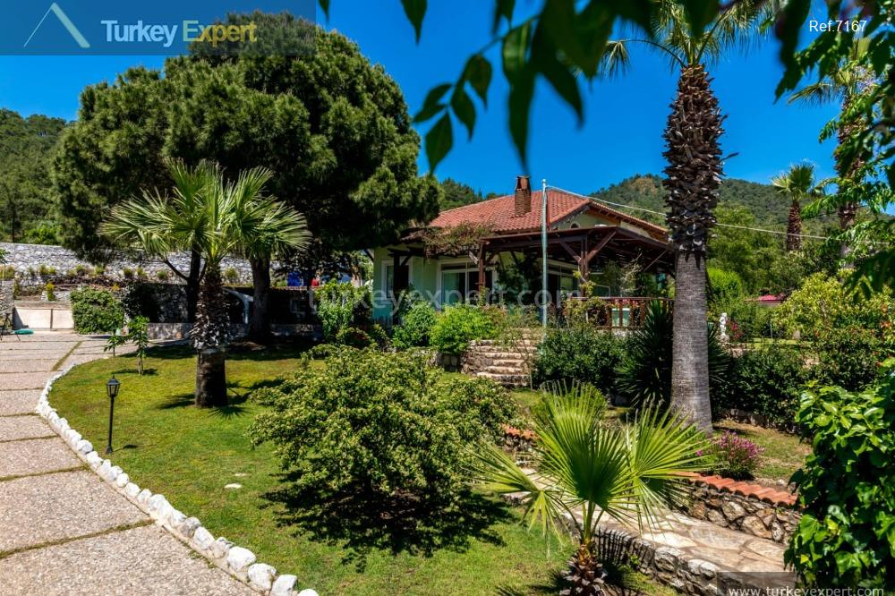 private house in marmaris with100