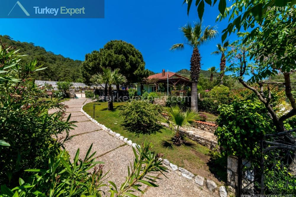private house in marmaris with101