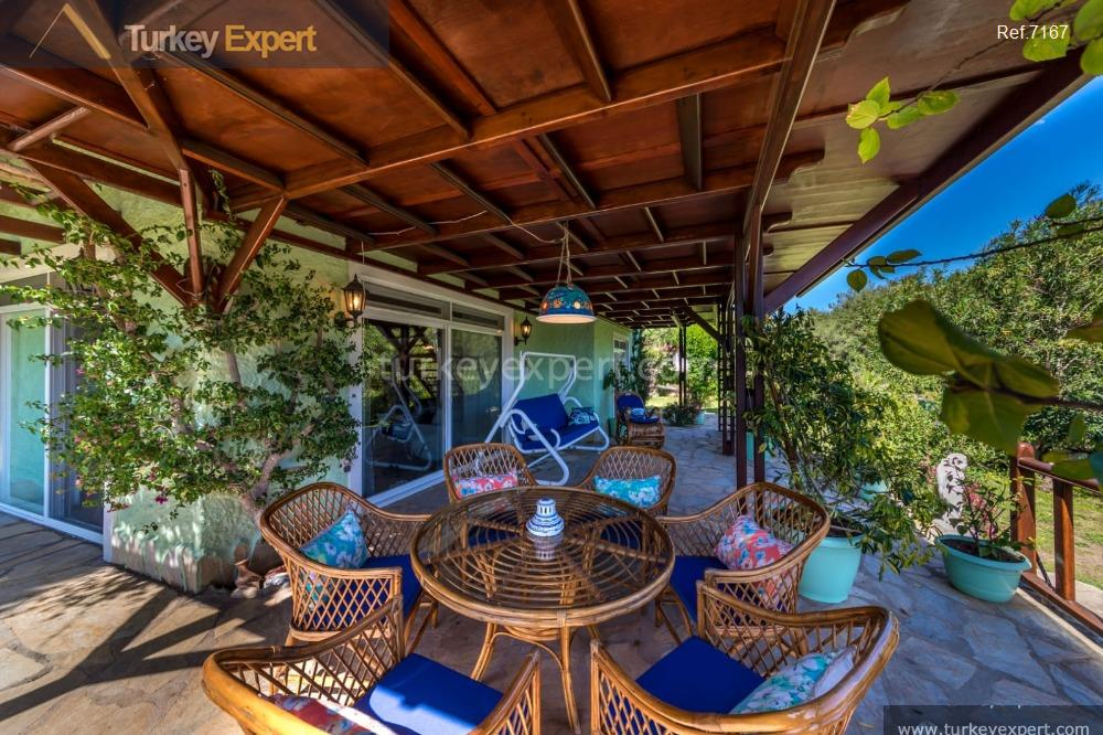 private house in marmaris with4