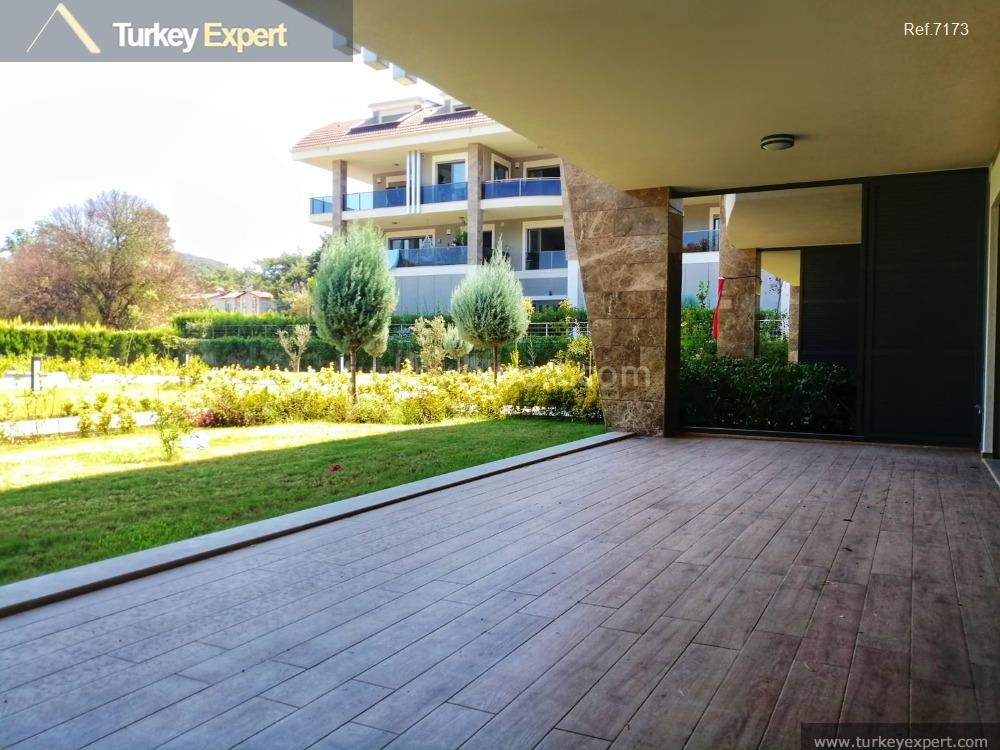 modern garden apartment in marmaris15