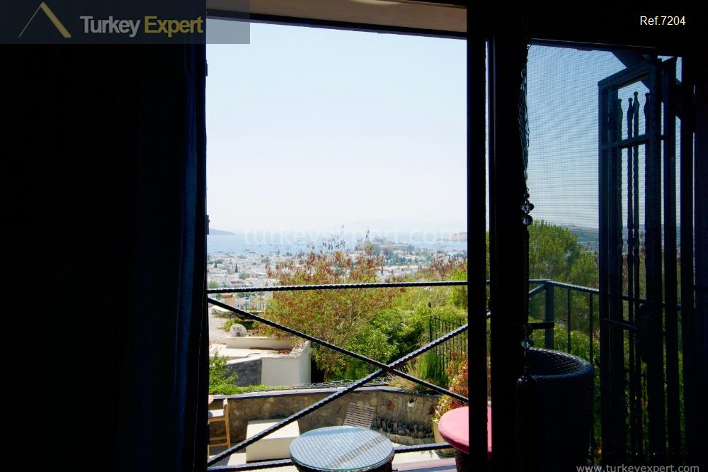 independent bodrum villa with sea15