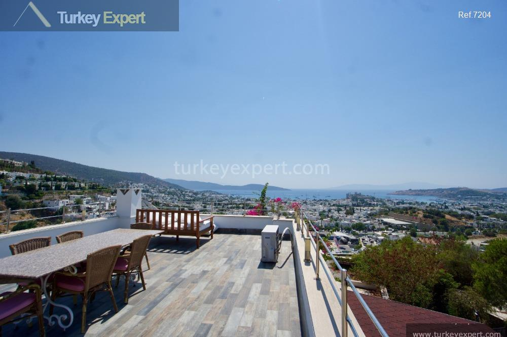 independent bodrum villa with sea2