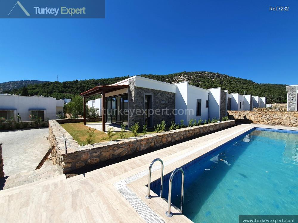 1detached homes in bodrum for108