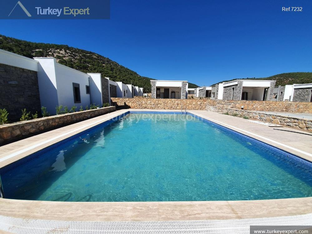 detached homes in bodrum for10
