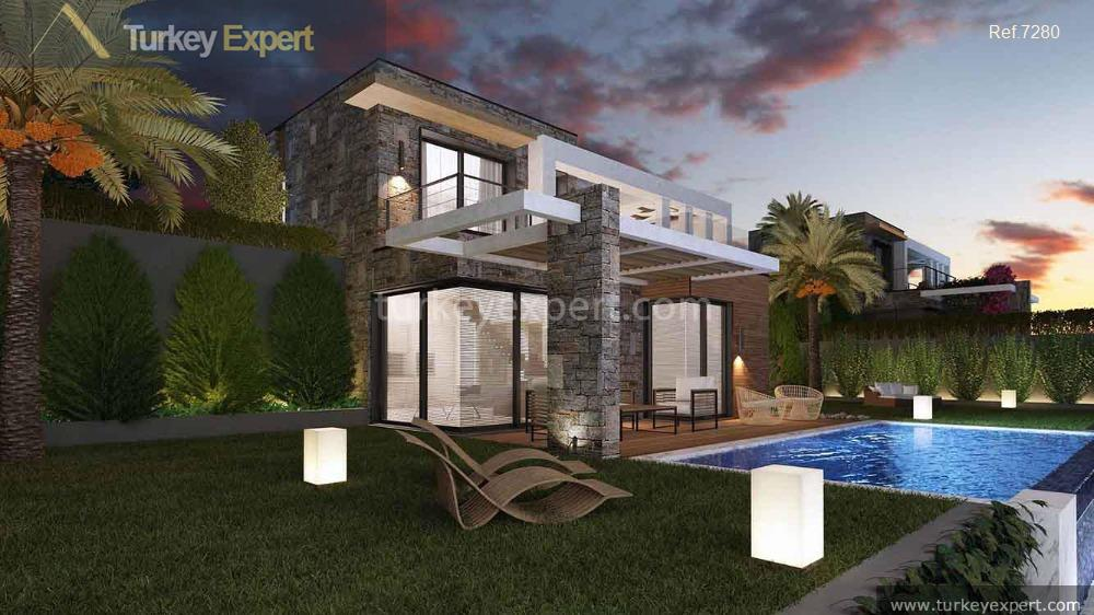 independent seaview villas with private7